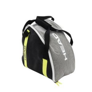 ●モダンなシェイプとデザインのBootbagは、お気に入りのスキーブーツ1足を余裕をもって収納できる...