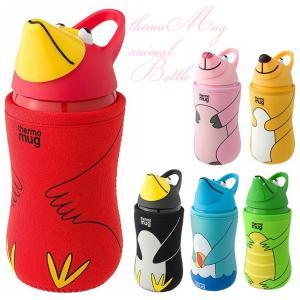 thermo mug 水筒 アニマグボトル ストラップ付 サーモマグ (ot) 5155 アニマルボ...