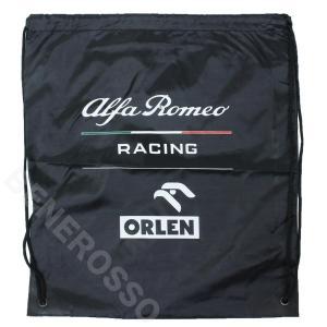 アルファロメオ レーシング オーレン チーム ジムバッグ 2021 ブラック U99111413|victorylap