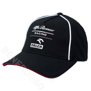 アルファロメオ レーシング オーレン チーム BBキャップ ブラック 2021 U90011413 victorylap