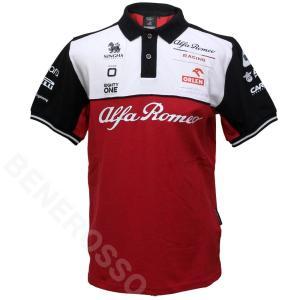 アルファロメオ レーシング オーレン チーム ポロシャツ 2021 M91091413|victorylap