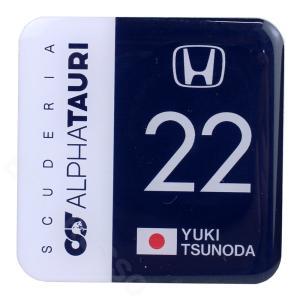 スクーデリア アルファタウリ ホンダ チーム 角田裕毅 BIG ピンズ SAT-ES-2107|victorylap
