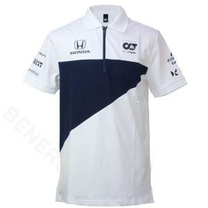 スクーデリア アルファタウリ ホンダ チーム ポロシャツ 2021 ホワイト SAT21035-02|victorylap