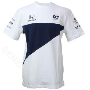 スクーデリア アルファタウリ ホンダ チーム Tシャツ 2021 ホワイト SAT21031-02|victorylap