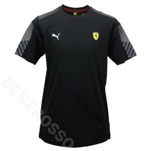PUMA フェラーリ レース T7 Tシャツ 2021 ブラック 531678-01|victorylap