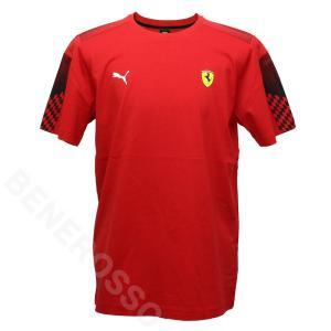PUMA フェラーリ レース T7 Tシャツ 2021 レッド 531678-02|victorylap