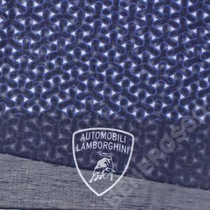 ランボルギーニ Yウェーブ パターン スカーフ ネイビー (stone) 9012285CCU194|victorylap