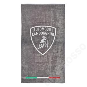 ランボルギーニ シールド ビーチタオル グレー (Grigio Antares) 9012241CCE103|victorylap