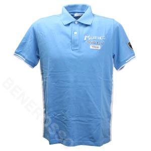 ランボルギーニ メンズ Miura SS ポロ ライトブルー (Heaven Blue) 901221CCU200|victorylap