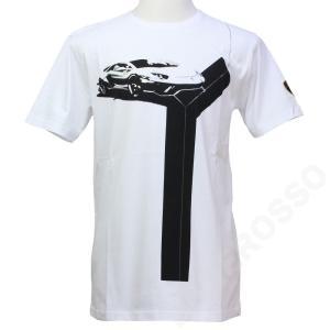 ランボルギーニ メンズ Y Tシャツ ホワイト 9012271CCW086|victorylap