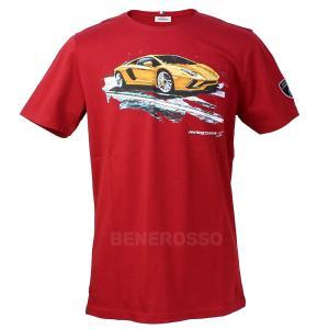 ランボルギーニ メンズ アヴェンタドールS Tee レッド 9012422CCR056|victorylap