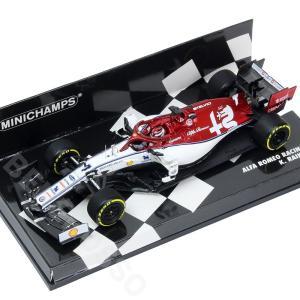 MINICHAMPS 1/43スケール アルファロメオ レーシング C38 K.ライコネン 2019年 417190007 victorylap
