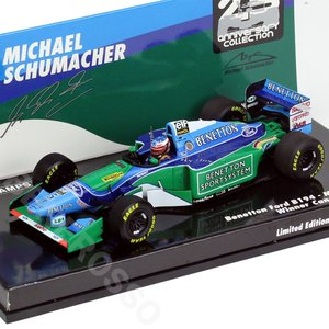 MINICHAMPS 1/43スケール ベネトン フォード B194 M.シューマッハ カナダGP 1994 517940605|victorylap