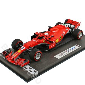 BBR MODELS 1/18スケール フェラーリ SF71-H カナダGP 2018 S.ベッテル Special Packaging BBR181805CANSH|victorylap