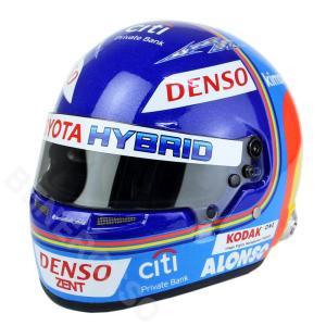 SPORTS MINI LINE 1/2スケール F.アロンソ 2018 WEC仕様 ヘルメット BELL-4171886|victorylap