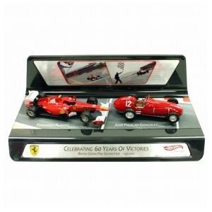 (アウトレット) マテル 1/43スケール フェラーリ CELEBRATING 60 YEARS OF VICTORIES MT6666X  (返品・交換対象外)|victorylap