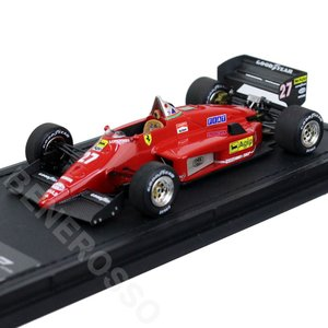 TOPMARQUES 1/43スケール フェラーリ 156-85 1985 No.27 M.アルボレート GRP43010A victorylap