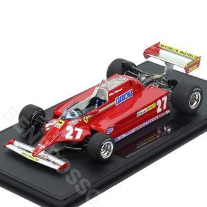 TOPMARQUES 1/18スケール フェラーリ 126CK 1980 #27 G.ヴィルヌーブ (ケース付) GRP016A-C|victorylap