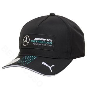 PUMA メルセデス AMG ペトロナス F1チーム ベースボール キャップ 2021 ブラック 023166-01 victorylap