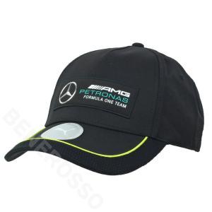 PUMA メルセデス AMG ペトロナス F1チーム ベースボール キャップ ブラック 2021 023497-01|victorylap