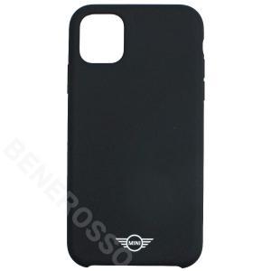 MINI iPhone11 シリコンケース ブラック MIHCN61SIBK victorylap