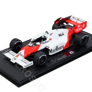 TOPMARQUES 1/18スケール マクラーレン MP4/2 1984 #8 N.ラウダ (ケース付き) GRP005AN-C|victorylap