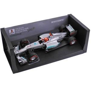 MINICHAMPS 1/18スケール メルセデス AMG ペトロナス F1チーム W03 2012 #7 M.シューマッハ モナコGP 110120107 victorylap