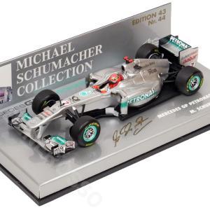 MINICHAMPS 1/43 メルセデスGP F1チーム MGP W02 #7 2011 M.シューマッハ 410110007 victorylap