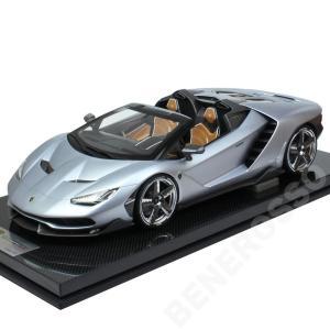 Look Smart 1/12スケール ランボルギーニ センテナリオ ロードスター Argento Centenario シルバー LS12-09A (宅配便大型)|victorylap
