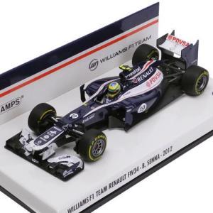MINICHAMPS 1/43スケール ウィリアムズ FW34 #19 B.セナ 2012 410120019|victorylap