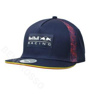 PUMA レッドブル レーシング フラットブリム キャップ 2021 ネイビー 023493-01 victorylap