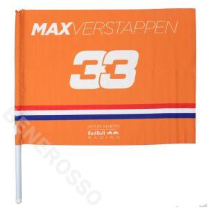 レッドブル レーシング チーム M.フェルスタッペン ハンド フラッグ 2019 オレンジ RBR-ES-1912|victorylap