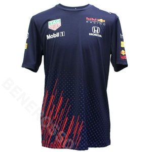 PUMA レッドブルレーシング チーム Tシャツ 2021 ネイビー 763112-01 victorylap