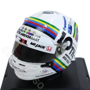 スパーク 1/5スケール 佐藤琢磨 ミニチュア ヘルメット 10th Anniversary 2019 TS-1913 victorylap