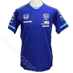 佐藤琢磨 TS ドライバー Tシャツ 2021 ブルー TS-2103|victorylap