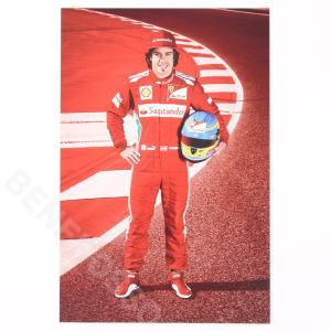 フェラーリ 2012 SF オフィシャル ドライバーカード F.アロンソ  (返品・交換対象外)|victorylap