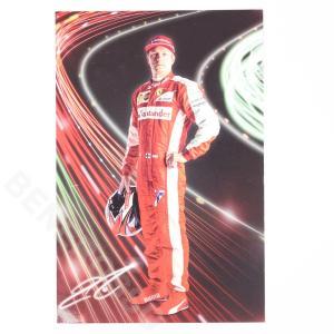 フェラーリ 2015 フェラーリ オリジナル ドライバーカード K.ライコネン  (返品・交換対象外) victorylap