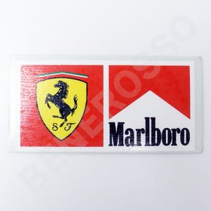 フェラーリ ステッカー SF×Marlboro 車両・機材用 A  (返品・交換対象外) victorylap