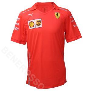 フェラーリ 2018 クルー 支給品 リフレクター Tシャツ  (返品・交換対象外) victorylap