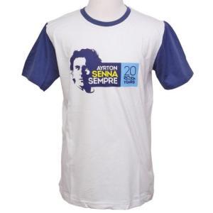 アイルトン・セナ Sempre Tシャツ ホワイト AS-14-199|victorylap