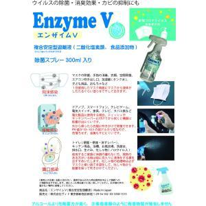 除菌スプレー エンザイムVスプレー300ml マスク 手指 ドアノブ 空間除菌に!|vid1515|02