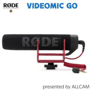 RODE ロード ガンマイク VIDEOMIC GO ビデオマイクゴー ビデオカメラ用マイク ショットガンマイク ユーチューバー 動画撮影|videoallcam