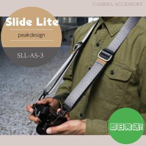 ピークデザイン カメラストラップ ネックストラップ スライド ライト アッシュ PEAK DESIGN SLL-AS-3 アクセサリー|videoallcam