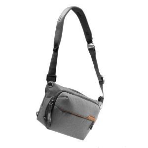 ピークデザイン カメラバッグ スリング カメラバッグ ショルダーバッグ 6L アッシュ BEDS-6...