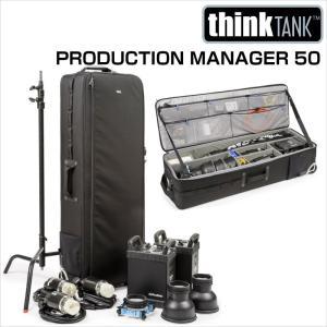 thinkTANKphoto シンクタンクフォト カメラバッグ ローリングケース プロダクションマネージャー 50|videoallcam
