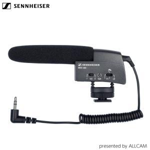 ガンマイク ゼンハイザー MKE 400  小型ガンマイクロフォン MKE400 ユーチューバー 動画撮影 一眼レフ SENNHEISER videoallcam