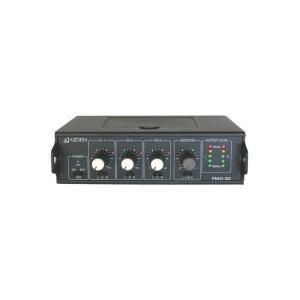 AZDEN/アツデン FMX-32 3チャンネル ポータブルミキサー|videoallcam
