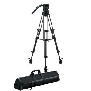 三脚 Libec リーベック RS-250DM ミッドスプレッダータイプ 業務用 トライポッド videoallcam