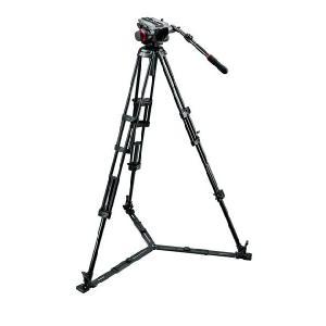 Manfrotto マンフロット 504HD,546GBK 三脚キット videoallcam