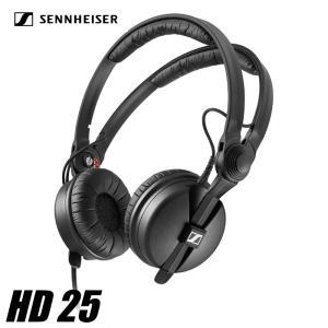 ヘッドフォン ゼンハイザー HD25  HD 25 ブラック SENNHEISER ダイナミック 密閉型 オンイヤーDJヘッドホン videoallcam